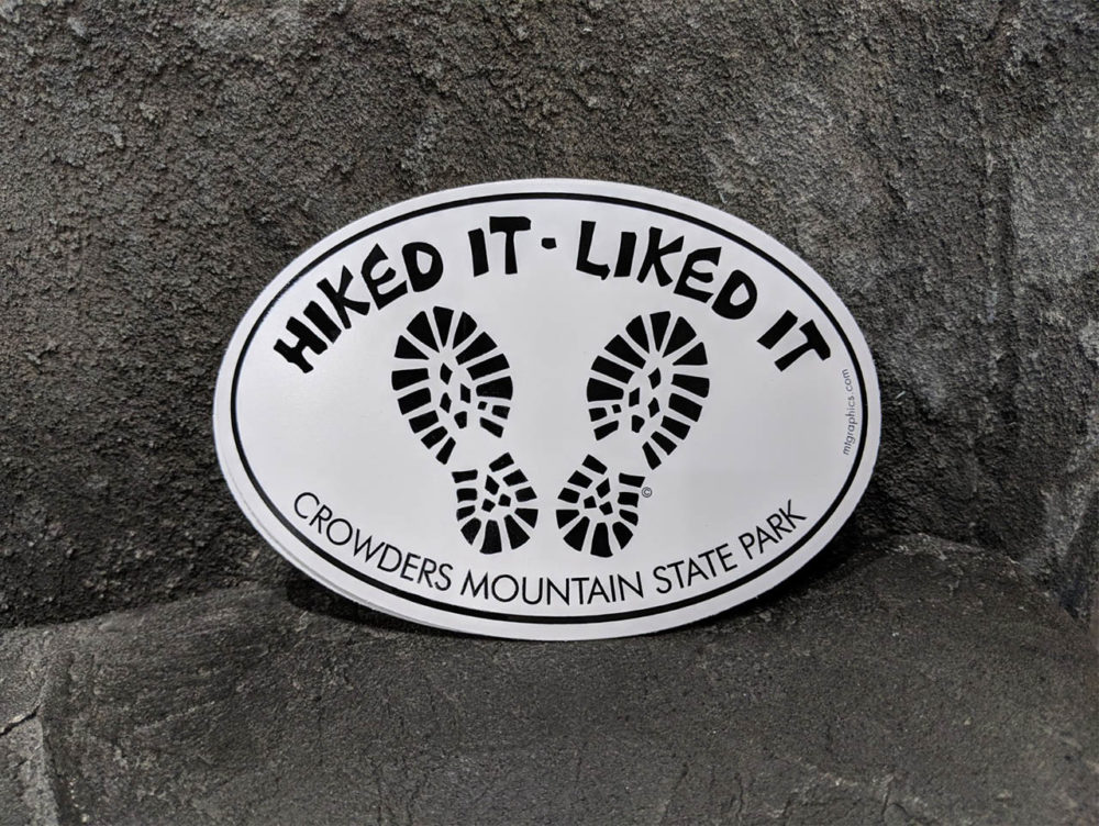 Hiked It - Liked It Sticker
